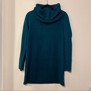 H&M Forest Green Cowl Neck Tunic